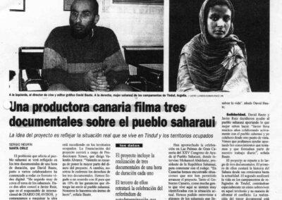 Los hijos de la nube - Diario de Avisos - 1999