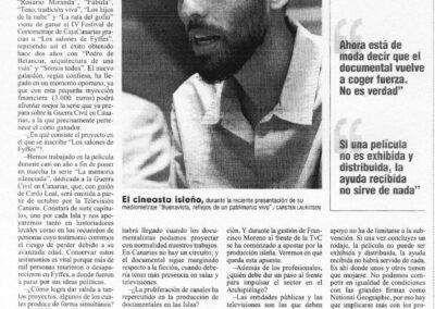 Entrevista - El Día - 2006