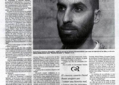 Entrevista - El Día - 2007