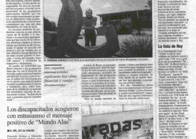 Miradas Doc - El Día - 2009