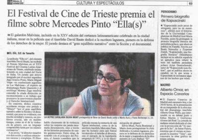 Ella(s) - El Día - Trieste - 2010