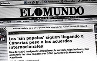 Canarias cronica de un drama - El Mundo - 2007