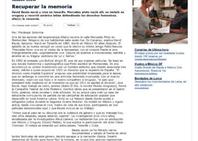 Ella(s) - El País - Uruguay - 2011
