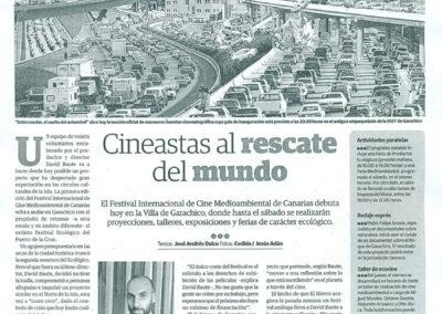 FICMEC - El Día - 2013