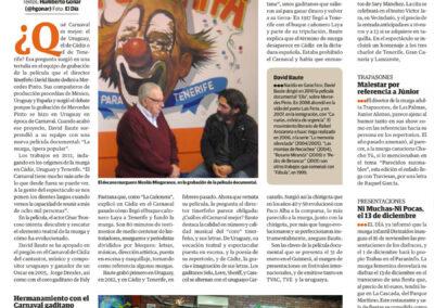 La murga - El Día - 2013