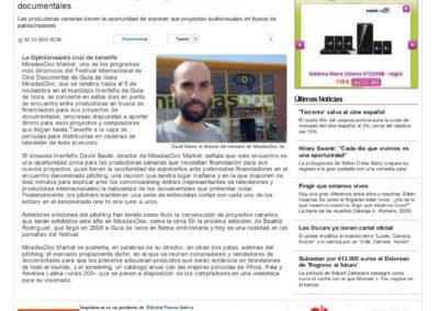 Miradas Doc - La Opinión - 2011
