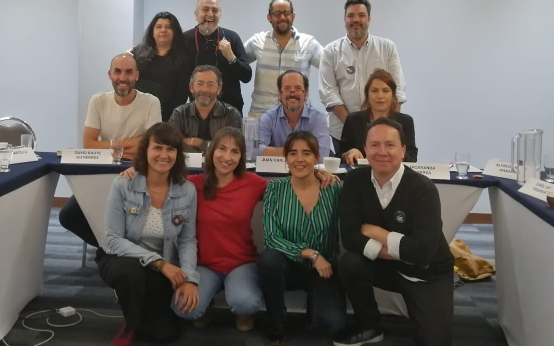 David Baute, en el comité evaluador del Fondo para el Desarrollo Cinematográfico de Colombia